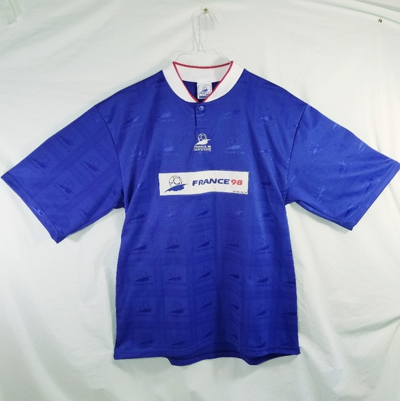 huge discount 8fe54 1aec1 France 1998 World Cup polo jersey. Imported, XL.